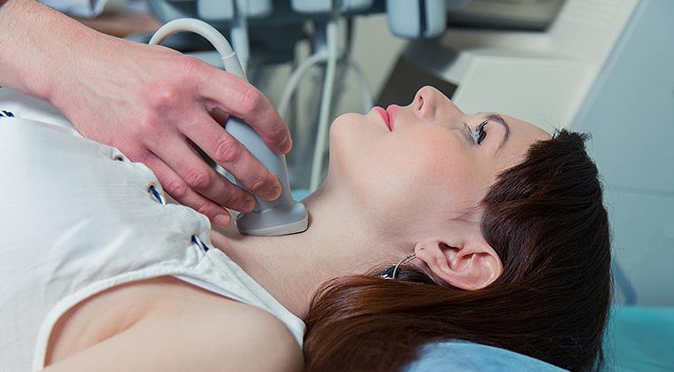 Badanie USG tarczycy - Macromedica