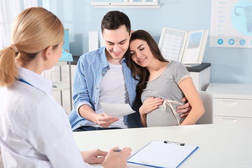 Wizyta u ginekologa w czasie ciąży